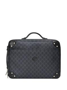 Gucci портфель с узором GG Supreme