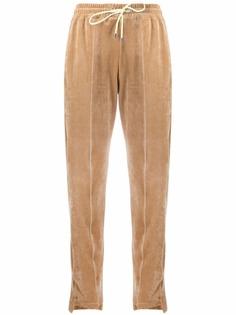 Pinko велюровые спортивные брюки с кулиской