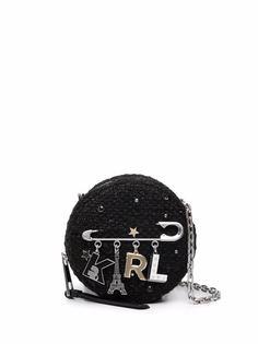 Karl Lagerfeld сумка K/Studio с подвесками