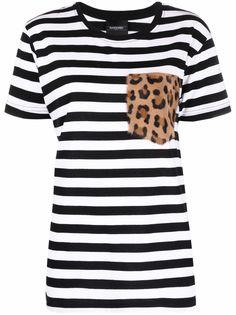 Simonetta Ravizza футболка с карманом