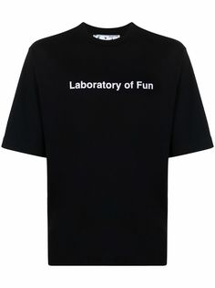 Off-White футболка Laboratory Of Fun