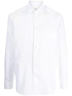 ETRO рубашка с нагрудным карманом
