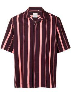 PAUL SMITH полосатая рубашка с короткими рукавами