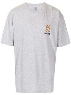 Moschino футболка с принтом Teddy Bear