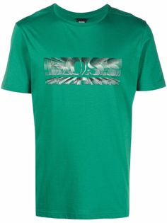 BOSS футболка с логотипом