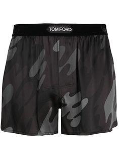 TOM FORD боксеры с камуфляжным принтом