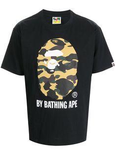 A BATHING APE® футболка Bape с камуфляжным принтом