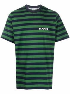 Sunnei футболка в полоску