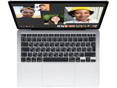 Ноутбук APPLE MacBook Air 13 (2020) Silver MGN93RU/A Выгодный набор + серт. 200Р!!! (Apple M1/8192Mb/256Gb SSD/Wi-Fi/Bluetooth/Cam/13.3/2560x1600/Mac OS)