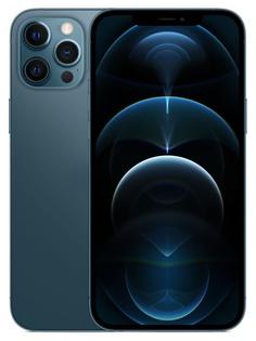 Сотовый телефон APPLE iPhone 12 Pro Max 256Gb Pacific Blue MGDF3RU/A Выгодный набор для Selfie + серт. 200Р!!!
