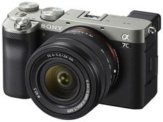 Фотоаппарат Sony Alpha A7C Kit 28-60mm Silver ILCE-7CL