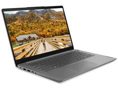 Ноутбук Lenovo IdeaPad 3 14ITL6 82H7009QRK (Intel Pentium Gold 7505 2GHz/8192Mb/256Gb SSD/Intel HD Graphics/Wi-Fi/Cam/14/1920x1080/DOS)