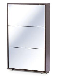 Обувница Vental Вива-3S с зеркалом Венге