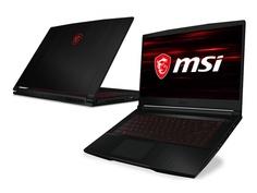 Ноутбук MSI GF63 Thin 10UD-418XRU 9S7-16R512-418 (Intel Core i7-10750H 2.6GHz/8192Mb/512Gb SSD/nVidia GeForce RTX3050 Ti 4096Mb/Wi-Fi/Bluetooth/Cam/15.6/1920x1080/DOS)