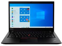 Ноутбук Lenovo ThinkPad T14s Black 20T00012RT (Intel Core i5 10210U 1.6 GHz/8192Mb/256Gb SSD/Intel UHD Graphics/Wi-Fi/Bluetooth/Cam/14/1920x1080/Windows 10)