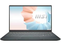 Ноутбук MSI Modern 14 B11MOU-451RU 9S7-14D314-451 (Intel Core i7-1165G7 2.8GHz/8192Mb/512Gb SSD/Intel Iris Xe Graphics/Wi-Fi/Bluetooth/Cam/14/1920x1080/Windows 10)
