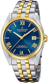 Швейцарские наручные мужские часы Candino C4702.2. Коллекция Automatic