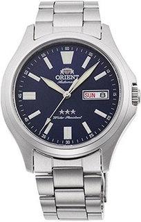 Японские наручные мужские часы Orient RN-AB0F09L21Z. Коллекция Three Star