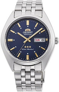 Японские наручные мужские часы Orient RN-AB0E08L21Z. Коллекция Three Star