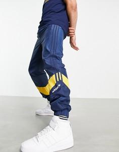 Темно-синие спортивные штаны adidas Originals Retro Revival-Темно-синий