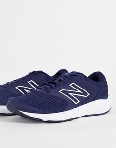 Темно-синие кроссовки New Balance 520 V7-Темно-синий