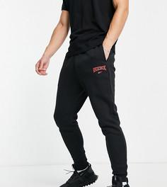 Черные джоггеры с винтажным логотипом Reebok – эксклюзивно для ASOS-Черный цвет