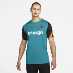 Мужская игровая футболка с коротким рукавом Nike Dri-FIT Chelsea FC Strike - Синий