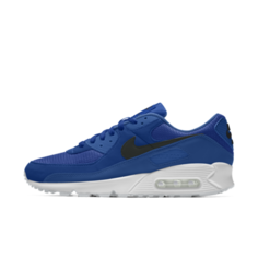Мужские кроссовки с индивидуальным дизайном Nike Air Max 90 By You - Синий