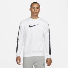 Мужская флисовая толстовка Nike Sportswear - Белый