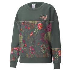 Толстовка PUMA x LIBERTY Printed Crew Neck Womens Sweatshirt