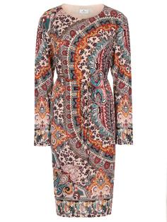 Платье шерстяное с принтом Etro