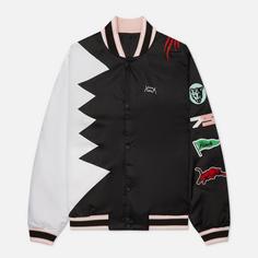 Мужская куртка бомбер Puma Official Visit, цвет чёрный, размер S