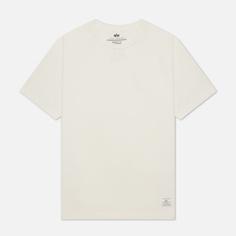 Мужская футболка Alpha Industries Essential, цвет белый, размер XL