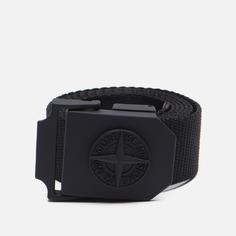 Ремень Stone Island Nylon Tape 7515, цвет чёрный, размер 110
