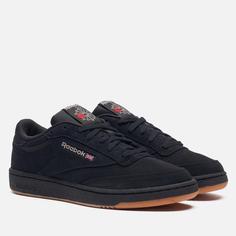 Кроссовки Reebok Club C 85, цвет чёрный, размер 41 EU
