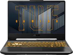 Ноутбук ASUS TUF Gaming FX506HCB-HN1138T 90NR0723-M04810 (Intel Core i5 11400H 2.7GHz/8192Mb/512Gb SSD/NVIDIA GeForce RTX 3050 4096Mb/Wi-Fi/Bluetooth/Cam/15.6/1920x1080/Windows 10)