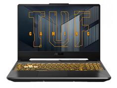 Ноутбук ASUS TUF Gaming F15 FX506HC-HN002T 90NR0723-M00820 (Intel Core i5-11400H 2.6GHz/8192Mb/512Gb SSD/nVidia GeForce RTX 3050 4096Mb/Wi-Fi/Cam/15.6/1920x1080/Windows 10 64-bit)