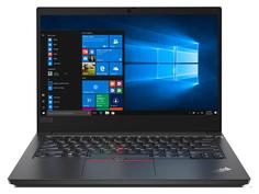 Ноутбук Lenovo ThinkPad E14 Black 20RA0012RT (Intel Core i5-10210U 1.6 GHz/8192Mb/1000Gb + 256Gb SSD/AMD Radeon RX 640 2048Mb/Wi-Fi/Bluetooth/Cam/14.0/1920x1080/Windows 10 Pro 64-bit)
