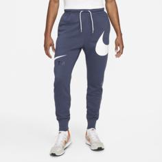Мужские брюки с полуначесом Nike Sportswear Swoosh - Синий