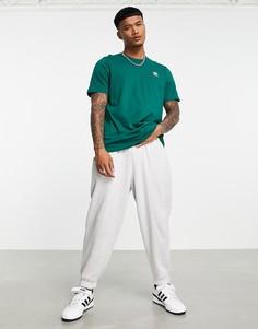 Зеленая футболка adidas Originals Essentials-Зеленый цвет