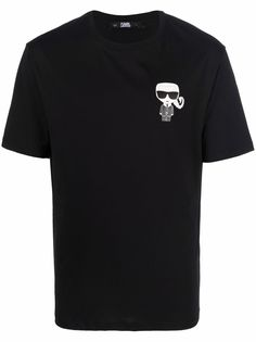 Karl Lagerfeld футболка Scorpio с логотипом