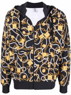 Moschino куртка с принтом Toy Bear