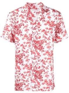 Orlebar Brown футболка с цветочным принтом