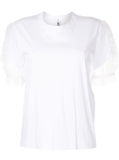 Comme Des Garçons Noir Kei Ninomiya футболка с объемными рукавами