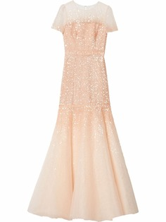 Carolina Herrera вечернее платье с пайетками