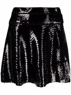 Dsquared2 расклешенная юбка с пайетками