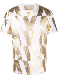 Valentino футболка с логотипом