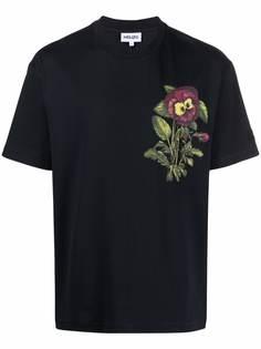 Kenzo футболка с короткими рукавами и цветочным принтом
