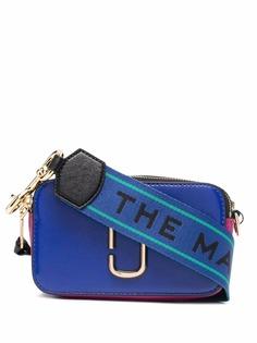 Marc Jacobs сумка-сэтчел в стиле колор-блок с логотипом