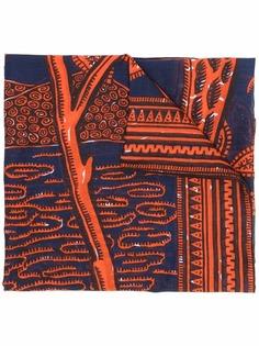 Valentino шарф с узором